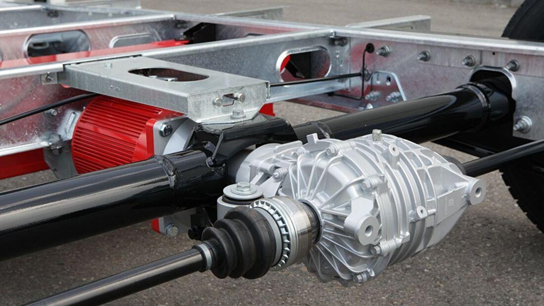 Fahrzeugtechnik-Spezialist Alko zeigt auf dem Caravan Salon sein weiterentwickeltes Electric-Power-Chassis an drei Ständen