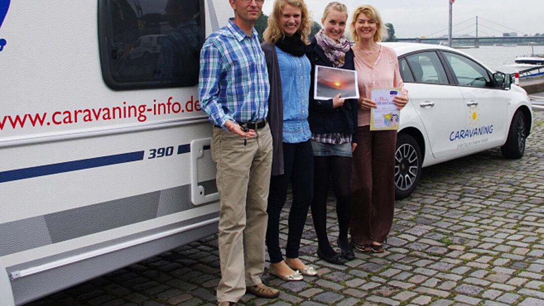 """Familie aus Mannheim gewinnt ersten Preis beim CIVD-Fotowettbewerb """"Caravaning-Jeder Tag ein anderer Urlaub"""""""