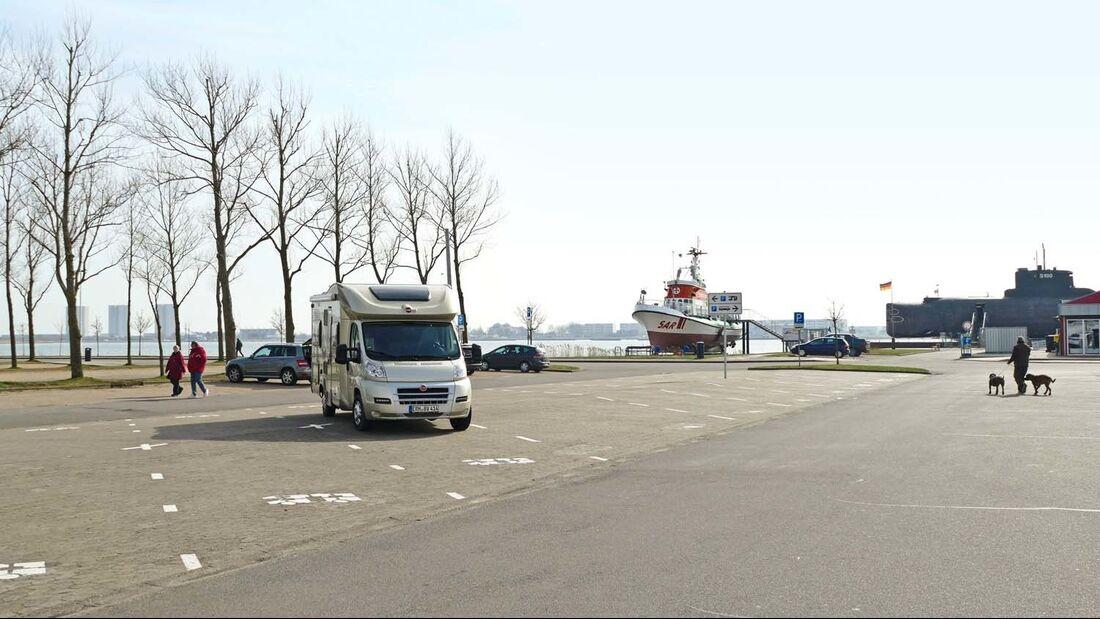 Fehmarn Hafen Stellplatz