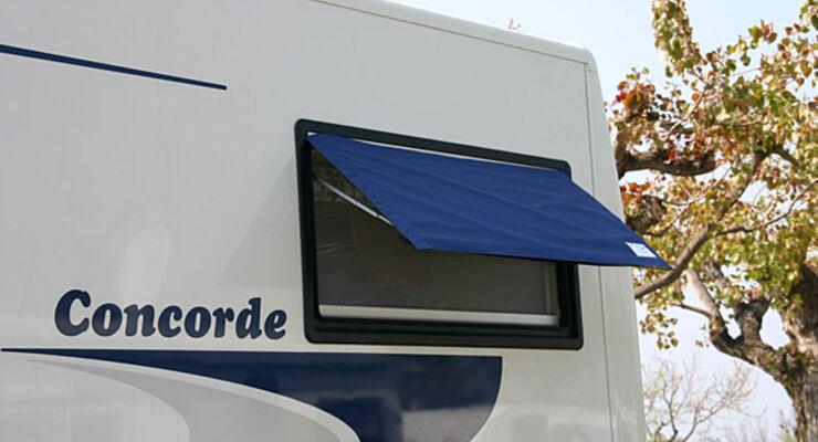 Fenster Zweirad Abdeckung Reisemobil