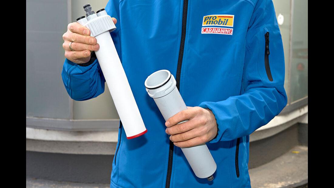 Feststofffilter im Test Dr. keddo