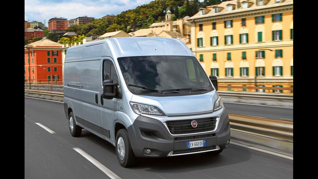 Fiat setzt in Zukunft ausschließlich auf den 2,3-Liter-Turbodiesel.