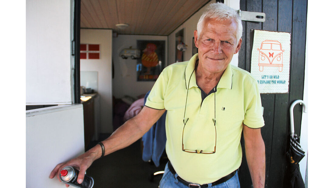 Finn Asved betreibt seit 2002 den City Campingplatz mitten in Kopenhagen.