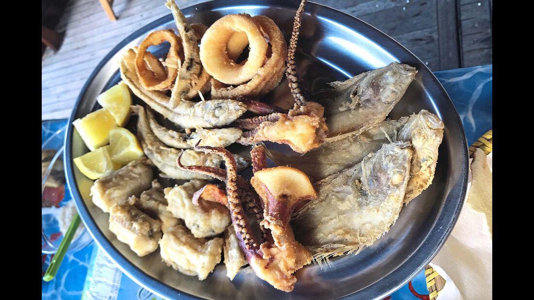 Fische aus dem Mittelmeer