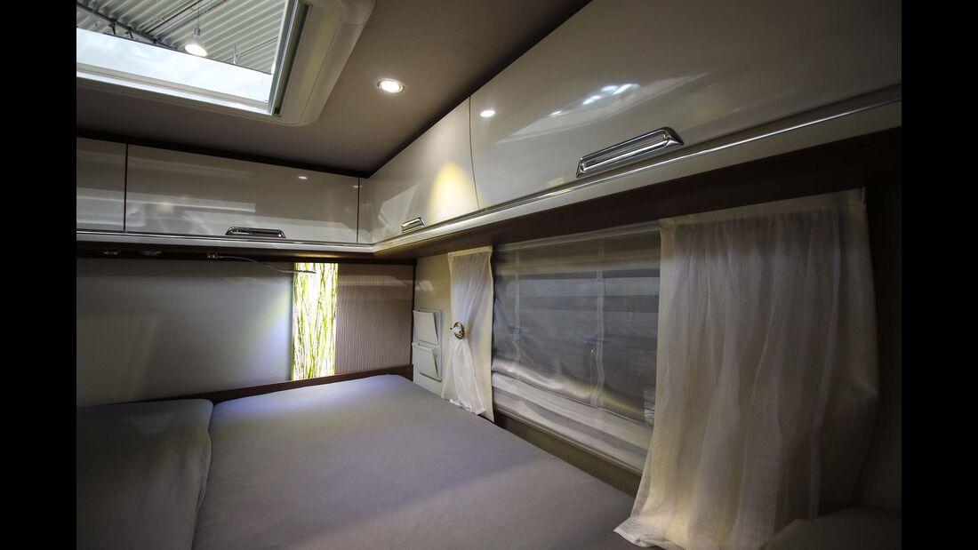 Flair 880LE Bett, Schränke