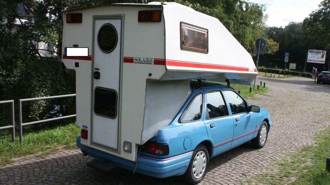 Ford Sierra (1992) mit Absetzkabine