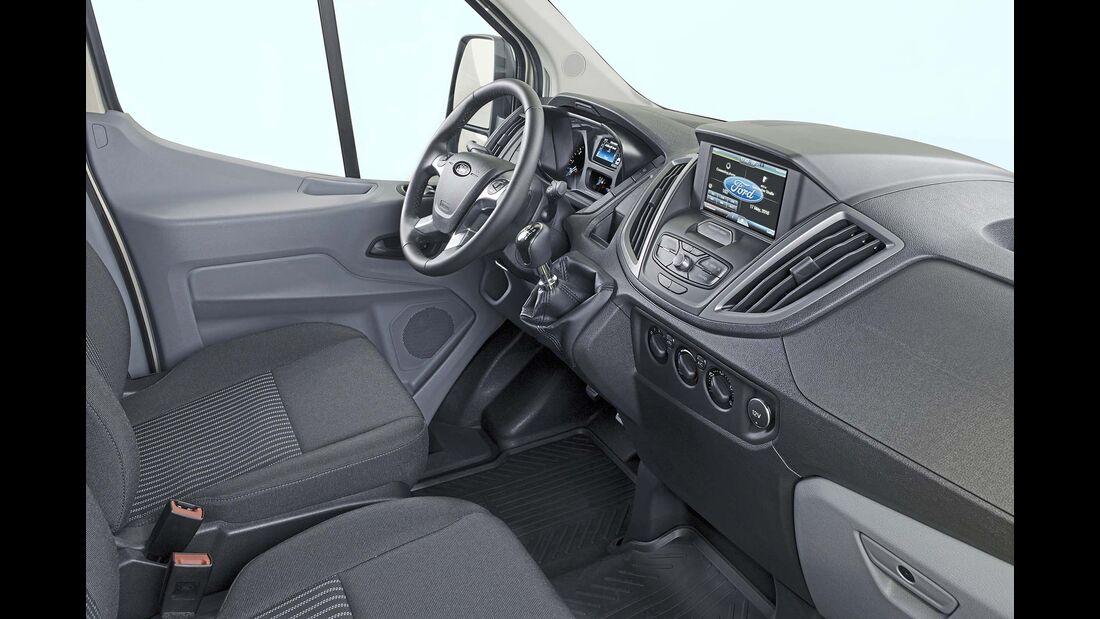 Ford Transit Custom Cockpit