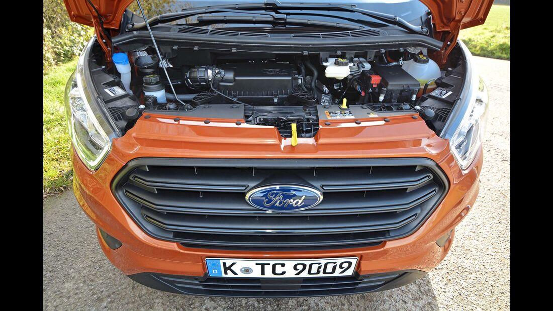 Ford Transit Custom Motorhaube