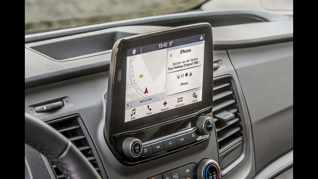 Ford Transit Custom Navigationssystem