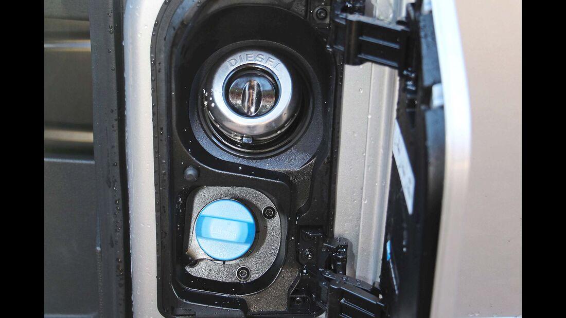 Ford Transit Custom Tankdeckel