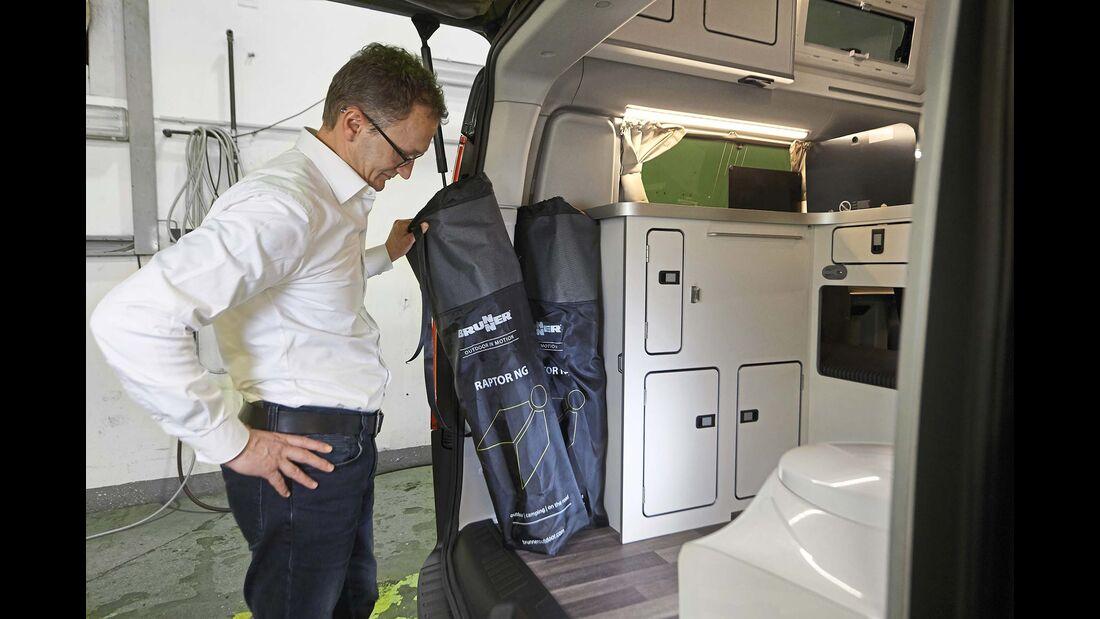 Ford Transit Nugget Plus Ablagefläche