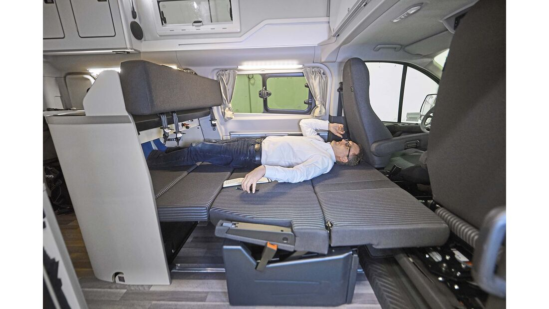 Ford Transit Nugget Plus Bett