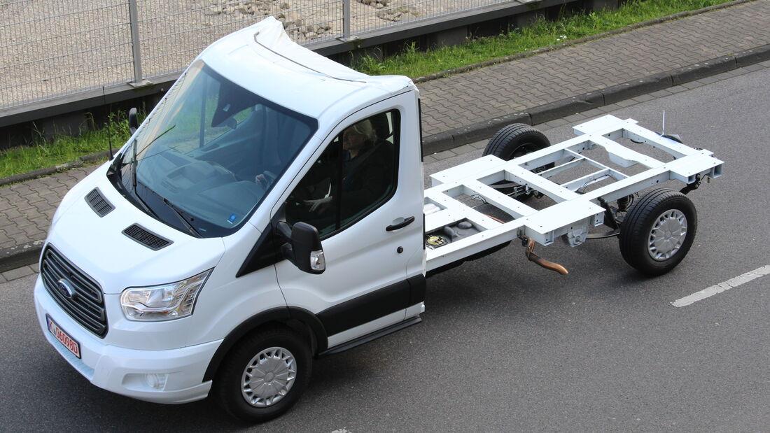 Ford mit drei Weltpremieren auf dem Caravan Salon 2014