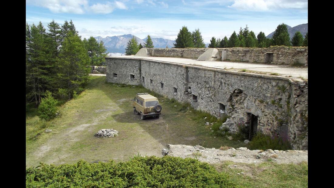 Fort Foens in den Alpen