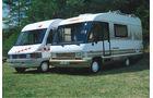 Frankia/Dethleffs Wohnmobile Reisemobile promobil