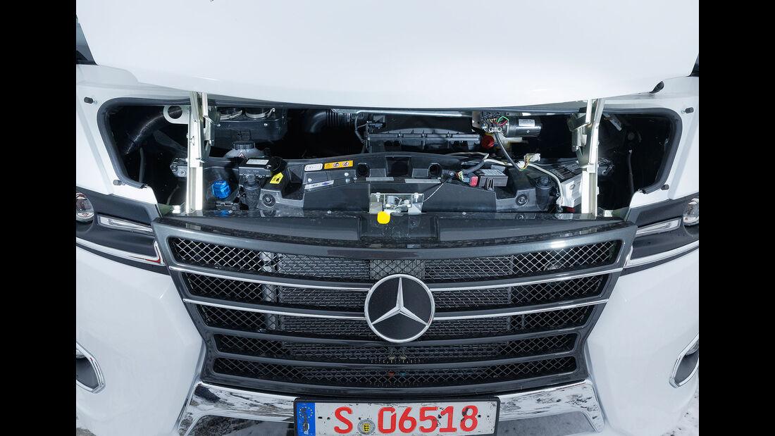 Frankia M-Line I 7400 Plus (2018) Wartungsklappe Motor