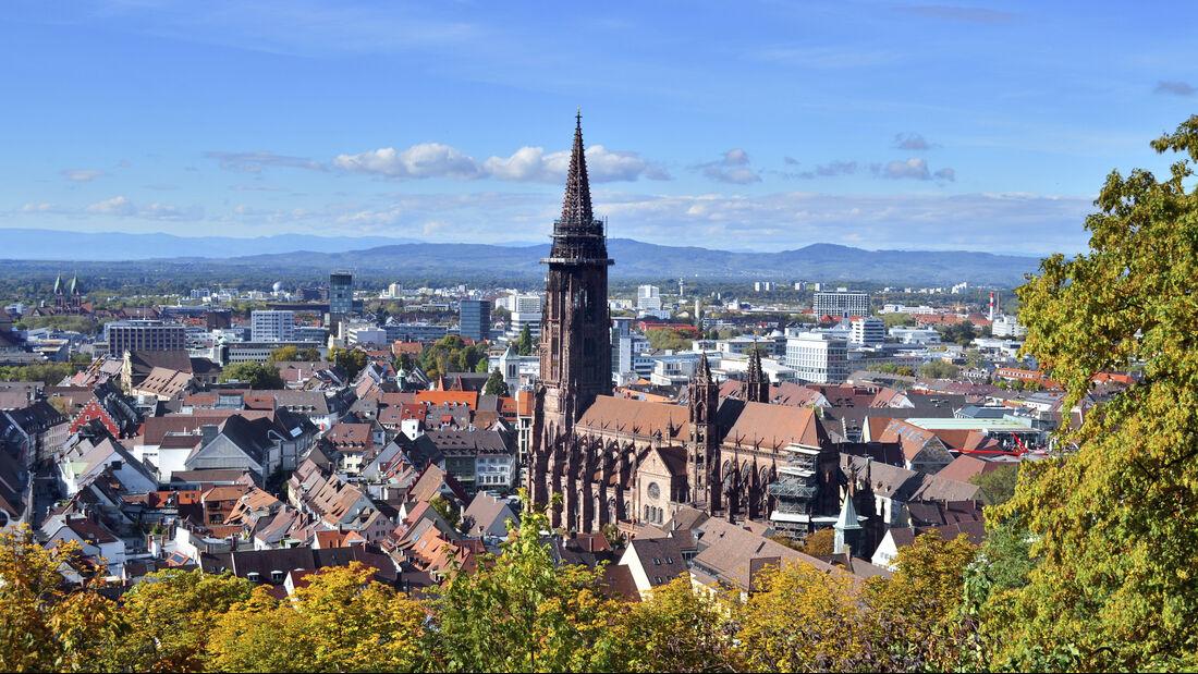 Freiburger Münster und Altstadt