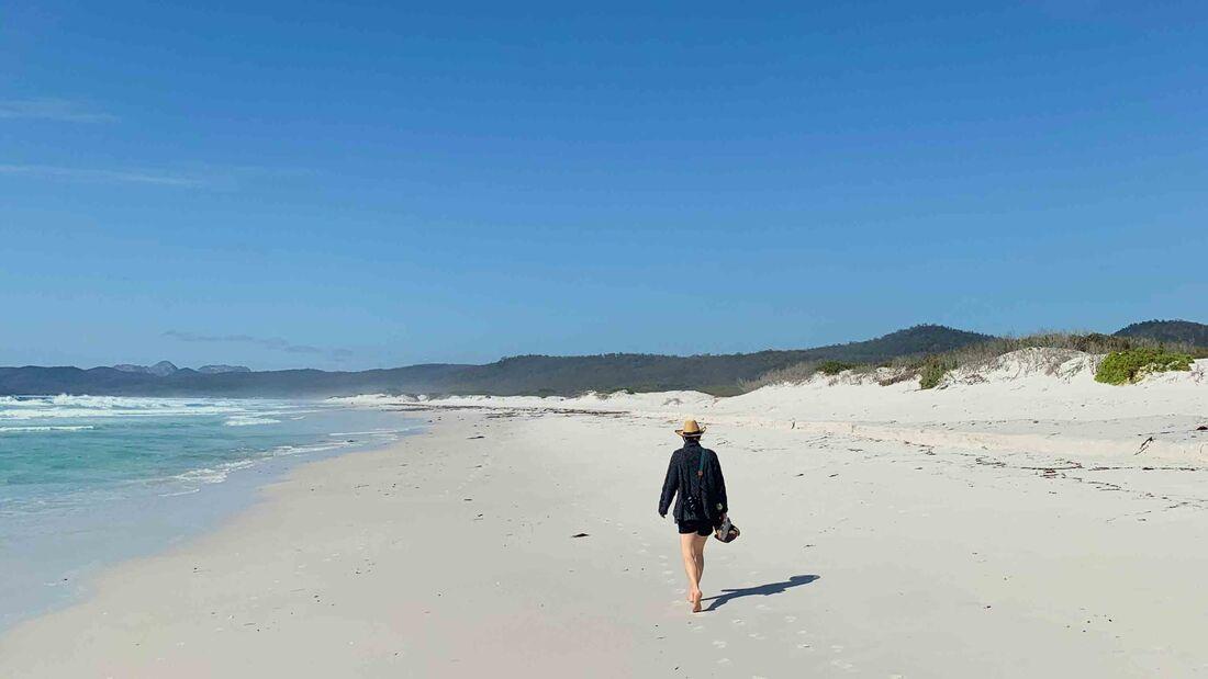 Friendly Beaches, Tasmanien