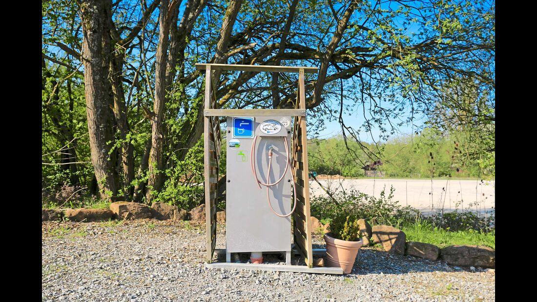 Frischwasser Station