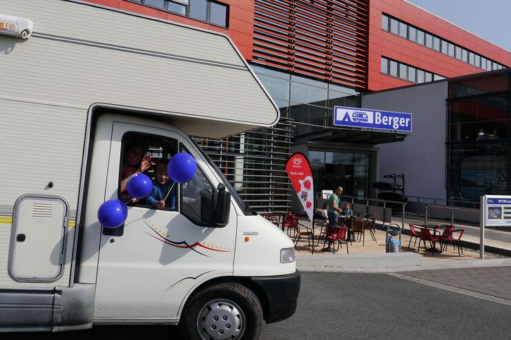Fritz Berger Megastore in Neumarkt