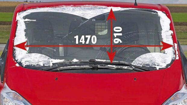 Frontscheibe beim Ford Transit