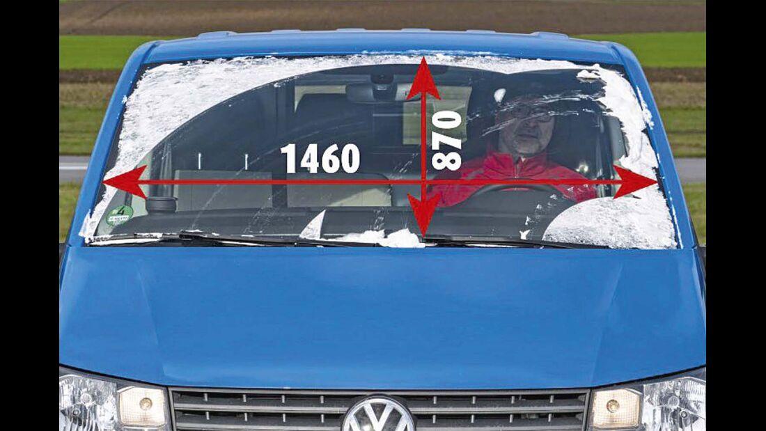 Frontscheibe beim VW T6