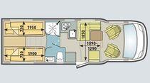 Für Bad und Küche bleibt hier mehr Platz.