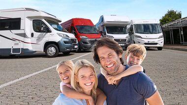 Für Familien ist es gar nicht so leicht, ein passendes Reisemobil zu finden