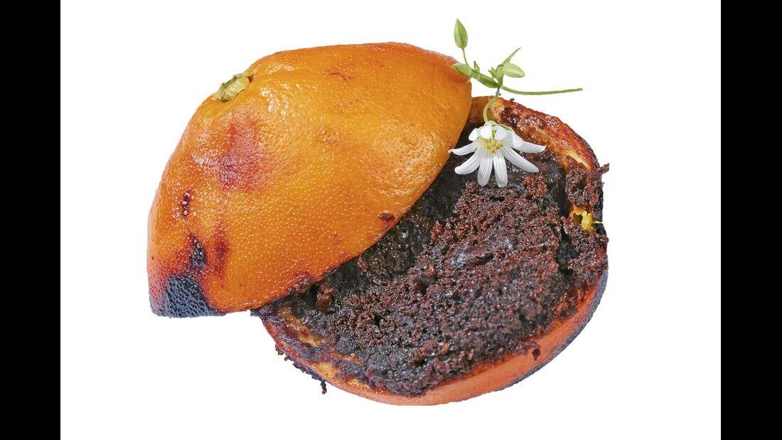 Für Gourmets haben wir ein schokoladiges und ein heißkaltes Nachtischrezept ...