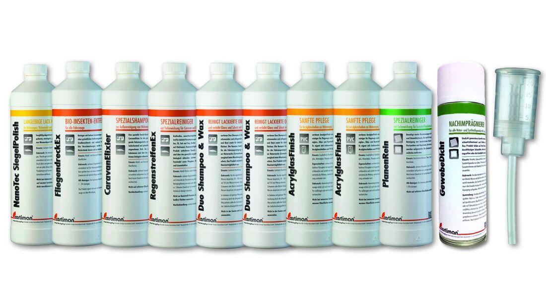 Für jede Oberfläche und jedes Einsatzgebiet verspricht Ccertiman das richtige Produkt im Portfolio.