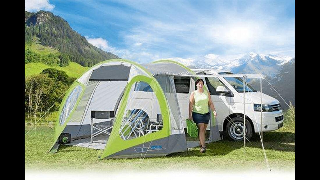 Fuer kompakte und groessere Campingbusse ist das Air Travel von Herzog entwickelt worden.