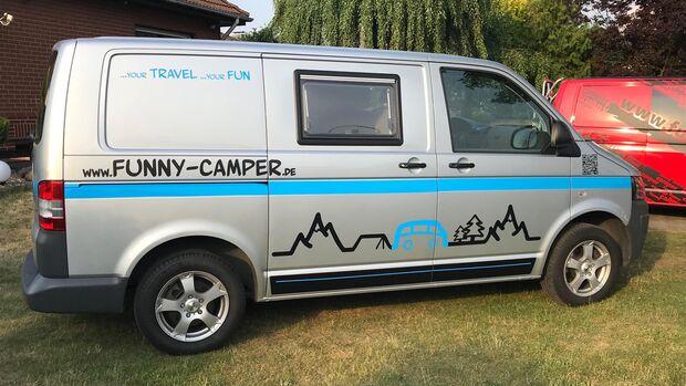 Funny Camper Miet-Bulli