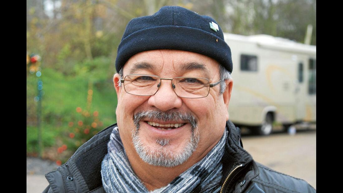 Gastgeber Werner Bradatsch.