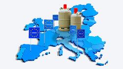 Gasversorgung Europa