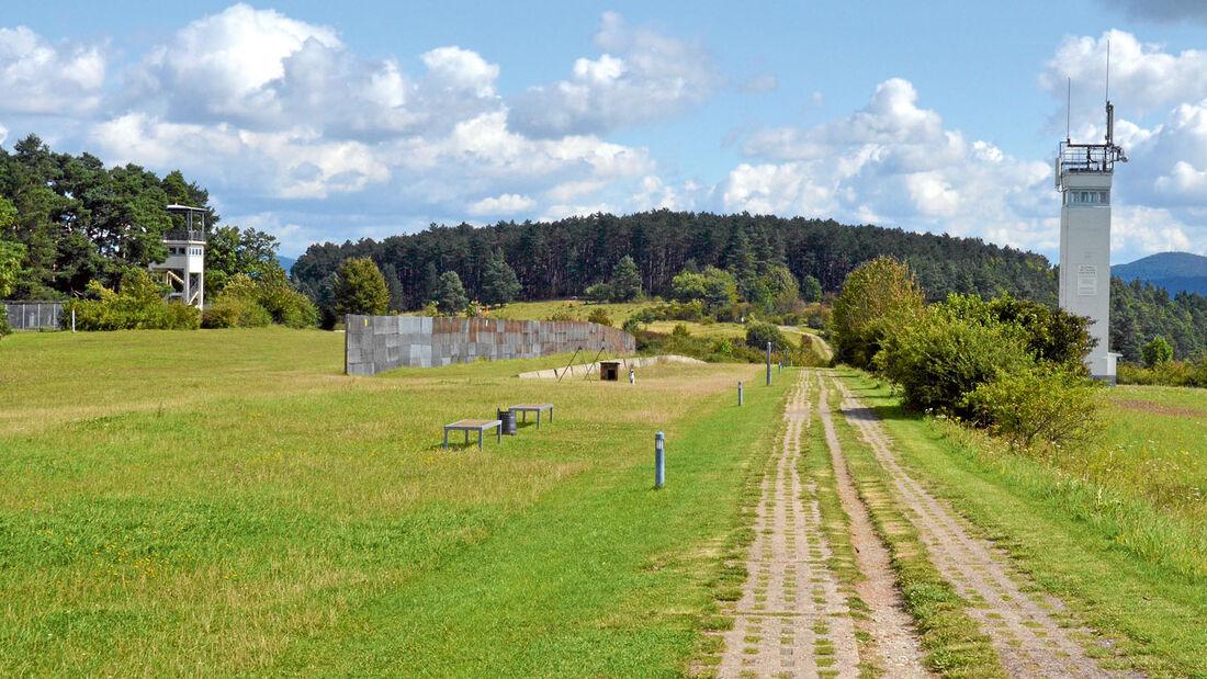 Gedenkstätte Point Alpha mit DDR-Grenzturm