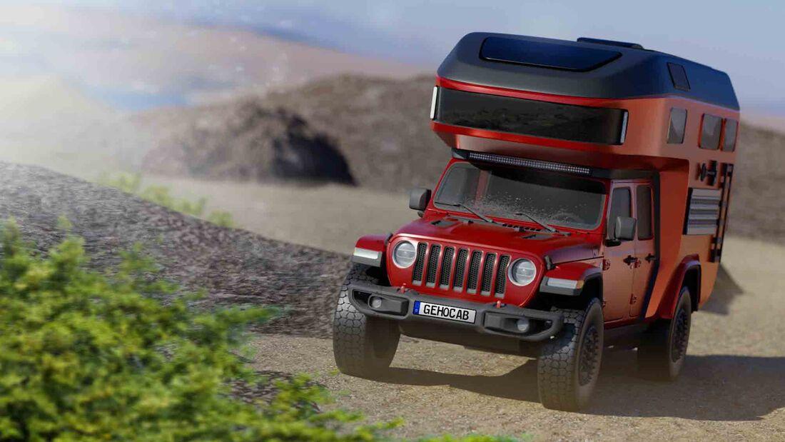 Gehocab Wohnkabine Jeep (2021)