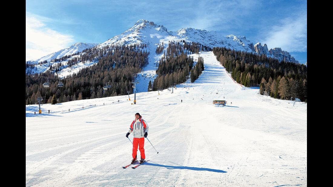 Gehoeren ebenfalls zur Skiregion Fassatal.