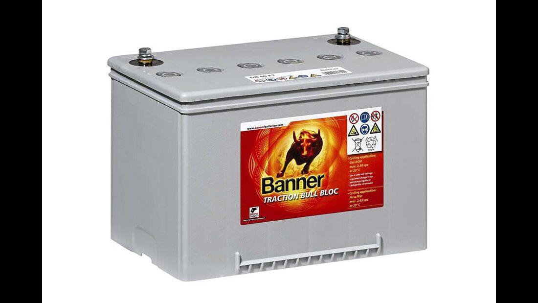 Gel-Batterie Banner