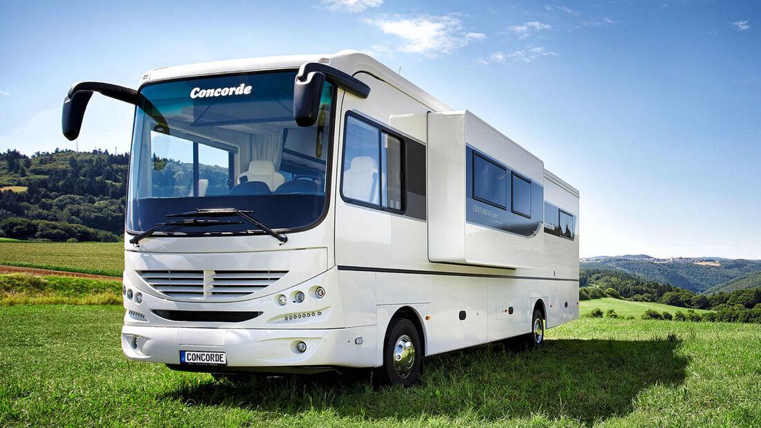 Gemeinsam mit Concorde hat der InterCaravaning-Fachhändler Niesmann Caravaning den ersten Centurion Liner mit Slide-Out entwickelt.