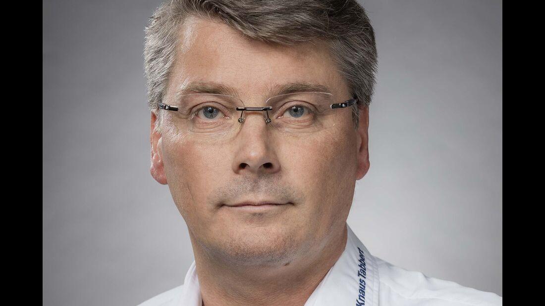 Gerd Adamietzki, Geschäftsführer der Knaus Tabbert GmbH