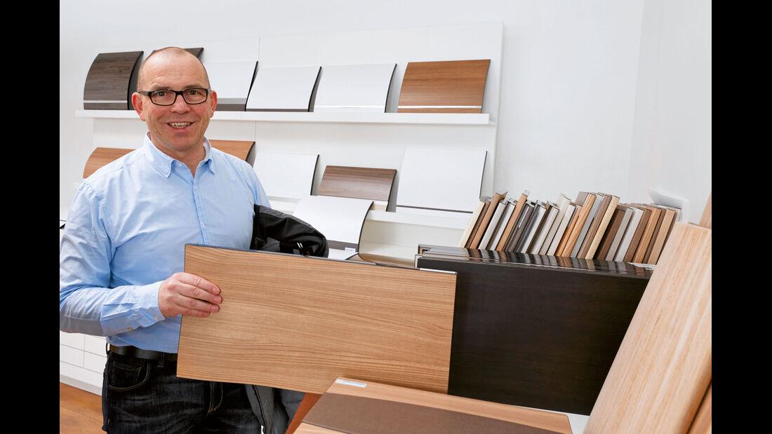 Geschäftsführer Thomas Vöhringer von Vöhringer Möbel