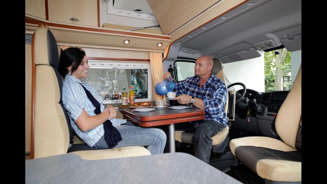 Globecar Scouty Innenraum