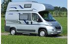 Globecar Scouty und Pössl Roady Caravan Salon 2009 Wohnmobile Vans Reisemobil Campingbusse promobil