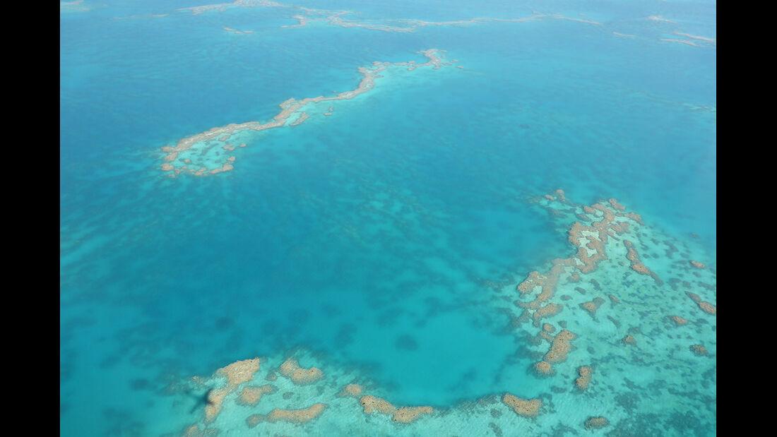 Great Barrier Reef aus der Luft