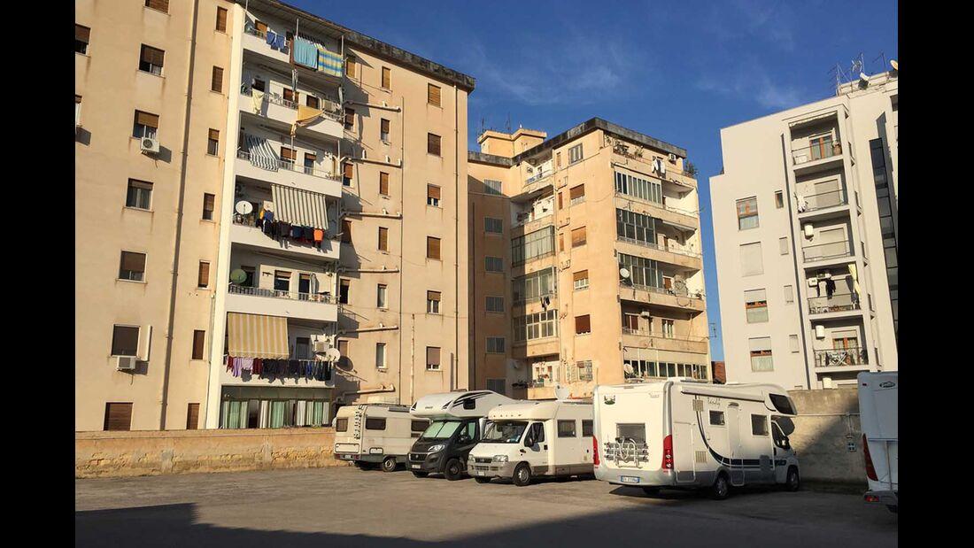 Green Car - Area di sosta attrezzata Palermo