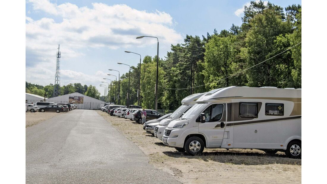 Grenzparkplatz Ahlbeck