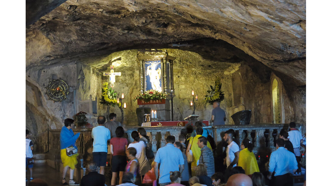 Grottenkiche in Monte Sant'Angelo