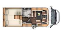 Grundriss Adria Compact SL