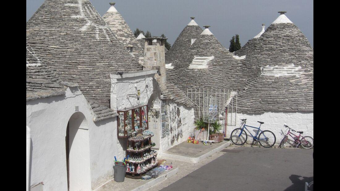 Häuser in Apulien