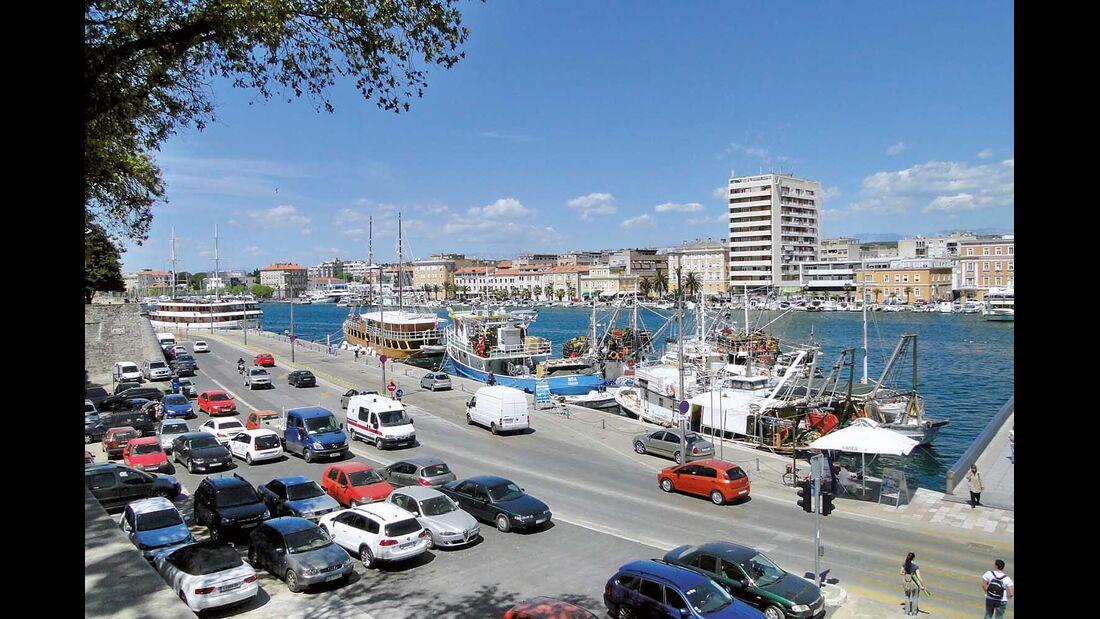 Hafen Zadar Kroatien